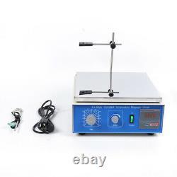 10L Laboratory Magnetic Stirrer Digital display Hot Plate Heating Stirring Mixer