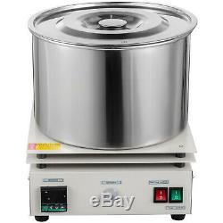 10L Magnetic Stirrer Hot Plate Digital Dual Controls Heating Holder Laboratory