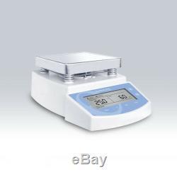 110 Voltage MS300 Hot Plate Magnetic Stirrer, Max 300 Celsius Degree US Plug