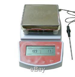 110V / 220V Digital Hot Plate Magnetic Stirrer Electric Heating Mixer 400