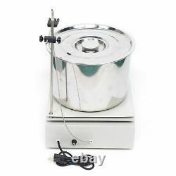 110V Magnetic Stirrer DF-101T With Hot Plate Digital Heating Lab Mixer10L+Barrel