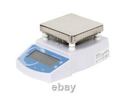110V US MS300 Digital Hot Plate Magnetic Stirrer Mixer Lab Equipment