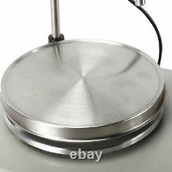 2 Heads Multi Unit Magnetic Stirrer Mixer Digital Hot plate 1600 RPM 110V USSHIP