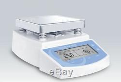 220V 01250rpm MS300 Digital hot plate magnetic stirrer mixer 300°C 2L