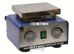 220V 5000 ML Magnetic Stirrer Hot Plate Euro Plug BY BRAND BEXCO Free Ship