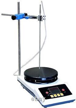 350°C Heated Magnetic Stirrer Hot Heating Stirring 7 Plate 1-Gallon PID Control