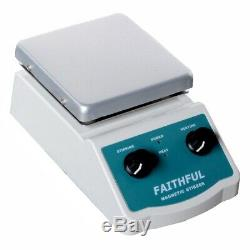 4.8 x 4.8in 2L Aluminum Laboratory Magnetic Stirrer Hot Plate