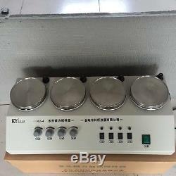 4 Heads Multi unit regular Magnetic Stirrer Hot plate mixer 110/220V ax