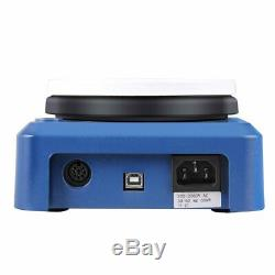 5 Inch LED Digital Magnetic Hotplate Stirrer 5L Ceramic Hot Plate 100-1500 RPM