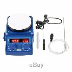 5 Inch LED Digital Magnetic Hotplate Stirrer of Ceramic Coated Hot Plate EU Plug
