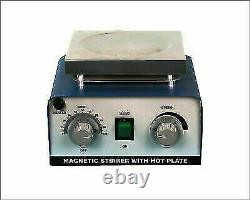 5000ml Magnetic Stirrer With Hot Plate And Teflon Bar
