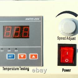 6 Heads Magnetic Stirrer Mixer Stirring Machine Thermostatic Heat Hot Plate 110V