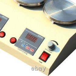 6 Unites Magnetic Stirrer Mixer Stirring Machine Thermostatic Heat Hot Plate New