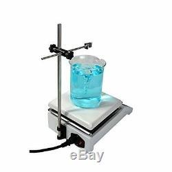 Analog Laboratory Magnetic Stirrer Hot Plate, 19cm x 19cm Panel, 600W