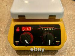 Barnstead Thermolyne SP131325 Cimarec Hot Plate Magnetic Stirrer 7x7 in