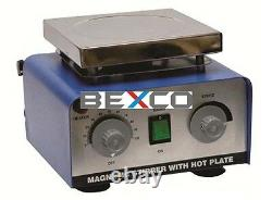 Brand BEXCO Magnetic Stirrer With Hot Plate 2000 ML Free DHL Shipping