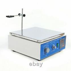 CJ-882A Hot Plate Magnetic Stirrer Mixer Stirring Lab 10L High Power Stirrer USA