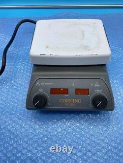 CORNING PC-420D Stirring Hot Plate 5x7 magnetic stirrer 698W 550° C hotplate