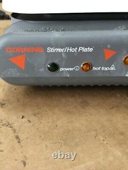 CORNING PC-620 MAGNETIC LABORATORY STIRRER/HOT PLATE 9 3/4x10 1/4