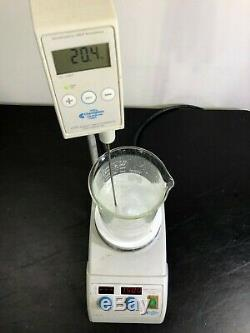 Chemglass AREX 3 PRO Hot Plate Magnetic Stirrer with Probe CG-1994-V WARRANTY