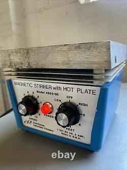 Cole-parmer 6 X 6 Magnetic Stirrer With Hot Plate Model 4803-00