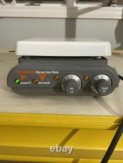 Corning 440936 Model PC-420 Laboratory Magnetic Stirrer Hot Plate Tested