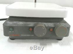 Corning Laboratory Stirrer Magnetic Hot Plate PC-320 with Humboldt H-21227 stands
