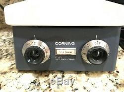 Corning PC-351 Hot Plate Magnetic Stirrer 6 x 7 1/2 120V Stirring Analog