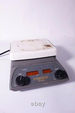 Corning PC-420D Digital Hot Plate & Magnetic Stirrer Tested and Working