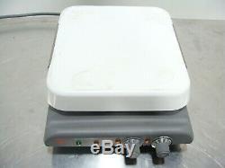Corning PC-620 Laboratory Magnetic Stirrer Hot Plate Ceramic 10x10 Very Nice