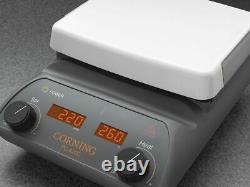 Corning Pyroceram PC-620D 10x10 Inch Laboratory Stirring Hot Plate