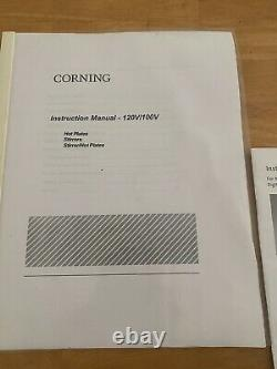 Corning hot plate magnetic stirrer