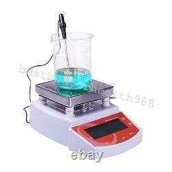 Digital Hot Plate Magnetic Stirrer Electric Heating Mixer max Temperature 400