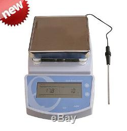 Digital Hot Plate Magnetic Stirrer Electric Heating Push-button controller FDA
