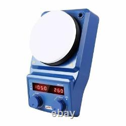 Digital Magnetic Stirrer Heating Hot Plate, 100 1500 rpm Stir Speed, Rt 280c