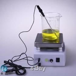 Digital hot plate magnetic stirrer mixer 300°C 2L MS300 220V