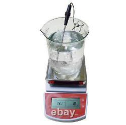 FDA Digital Hot Plate Magnetic Stirrer Electric Heating Mixer Blender MS400
