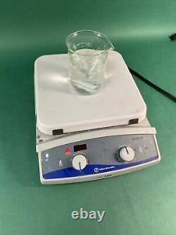 Fisher Scientific Isotemp Cat No. 11-100-100SH Ceramic Stirring Hot Plate