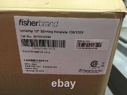 Fisher Scientific Isotemp+ Hot Plate Magnetic Stirrer 10x10 SP88850200 120V