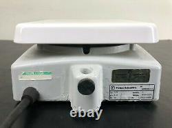 Fisher Scientific Isotemp Hot Plate Magnetic Stirrer 7x7 11-500-49SH 120V