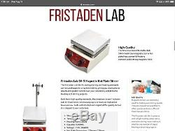 Fristaden Lab Magnetic Hot Plate Stirrer 100-1600 RPM 350°C 3000ml Laboratory