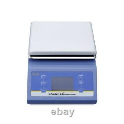 HSC-19T Digital Magnetic Stirrer Hot Plate Lab Mixer Stirring 20-2000RPM 5L 220V