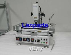 HT-R392 Hot Air & Infrared Preheating BGA Rework Station Soldering Machine 220V