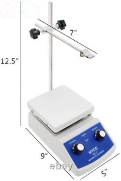 HYCC SH-2 Magnetic Stirrer with Analog Hot Plate (UK PLUG)