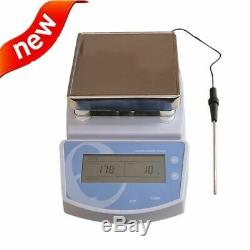 Hot Plate Magnetic Stirrer Electric Heating Mixer Temperature to 300 Lab Device