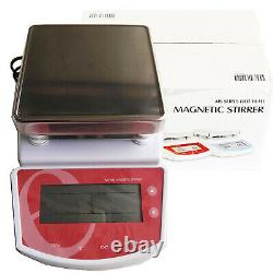 Hot Plate Magnetic Stirrer Heating Thermostatic Magnetic Stirrer Timing