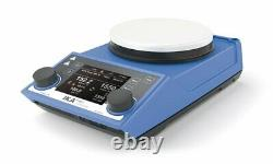 IKA 5030001 50-1700 rpm, Ret Control-Visc White Hot Plate