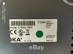 IKA C-MAG HS 4 Digital IKAMAG Hot Plate Magnetic Stirrer 230V