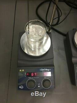 IKA Digital Hot Plate Magnetic Stirrer OptiMag+ RCT Basic Equivalent WARRANTY