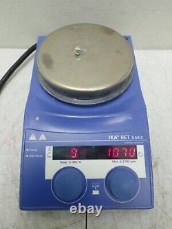 IKA Model RET B S1 RET Basic Digital Hot Plate Magnetic Stirrer